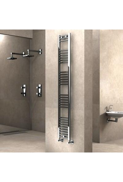 Radiva Banyo ve Mutfak Için Havlupan 300X1800 Düz Krom