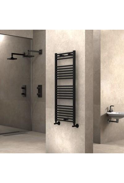 Radiva Banyo ve Mutfak Için Havlupan 500X1200 Düz Mat Siyah