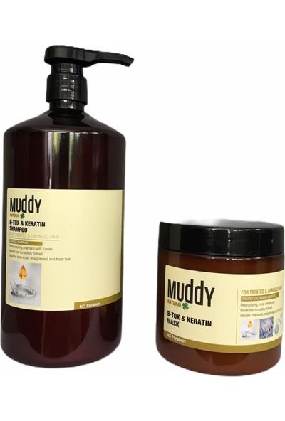 Muddy B-Tox Keratin Şampuan & Maske Set