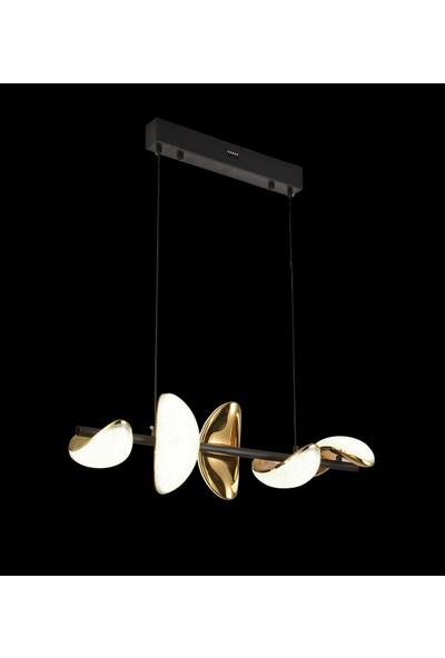 Luna Lighting Modern Luxury Sarkıt Sıralı 5'li LED Avize