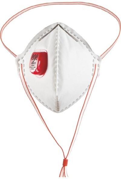 Ege 4015 Ffp3 N95/N99 Ventilli Maske - 40'lı