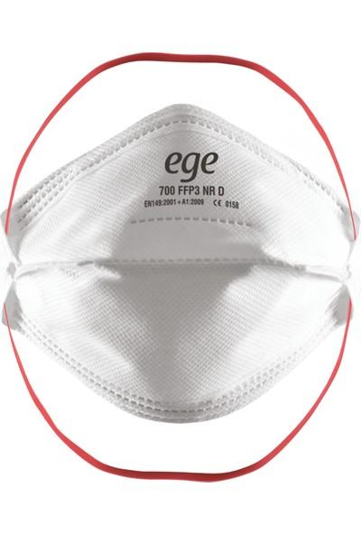 Ege 700 Ffp3 N95/N99 Ventilsiz Solunum Maskesi - 10 Adet