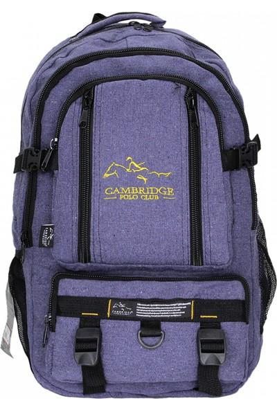 Cambridge Polo Club Kanvas Dağcı Sırt Çantası PLDGC90010 Lacivert