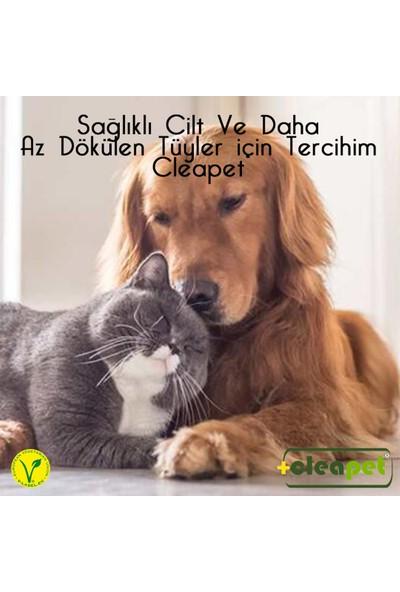 Cleapet Köpek ve Kedi Koku Giderici Deri ve Tüy Bakım Havlusu 2 Kutu 4 Havlu