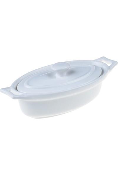Bambum Tevia - Porselen Sosluk Oval - B0690