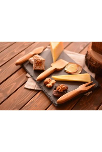 Bambum Algi - 3 Prç. Peynir Servis Seti B0525