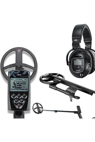 Xp Deus 28CM Başlık, Ana Kontrol Ünitesi Ws5 Kablosuz Kulaklık Define Dedektörü