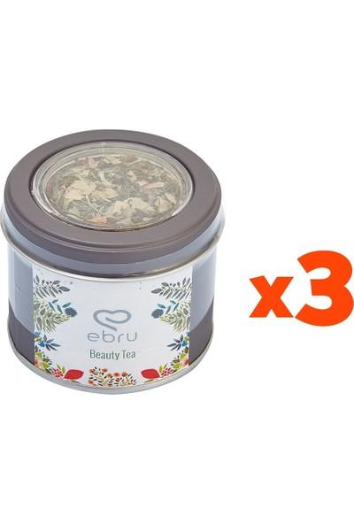 Chado Ebru Şallı Beauty Tea Güzellik Çayı 3'lü Set