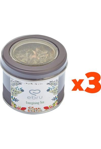 Chado Ebru Şallı Energising Tea Enerji Çayı 3'lü Set