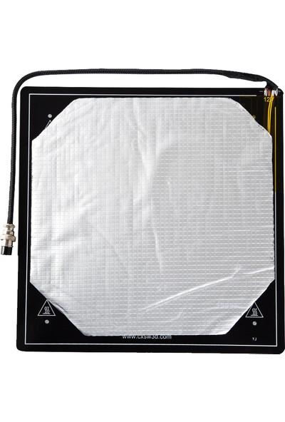 Creality 3D Isıtmalı Yatak Platformu Kiti Alüminyum (Yurt Dışından)