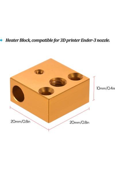 Creality 3D Yazıcı Isıtıcı Blok 20 x 20 x 10 mm Creality (Yurt Dışından)