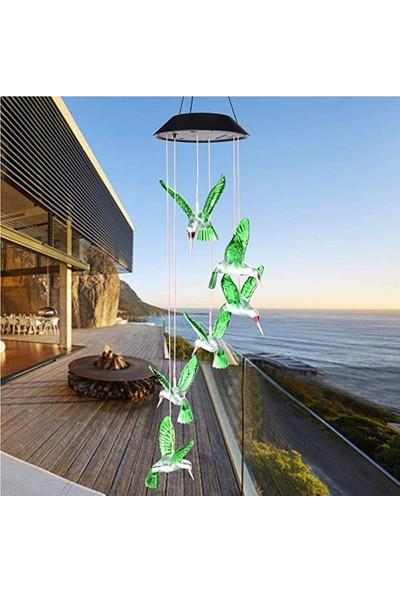 Buyfun Güneş Enerjisi Powered Rüzgar Ahenge Lambası Renk Değiştiren (Yurt Dışından)