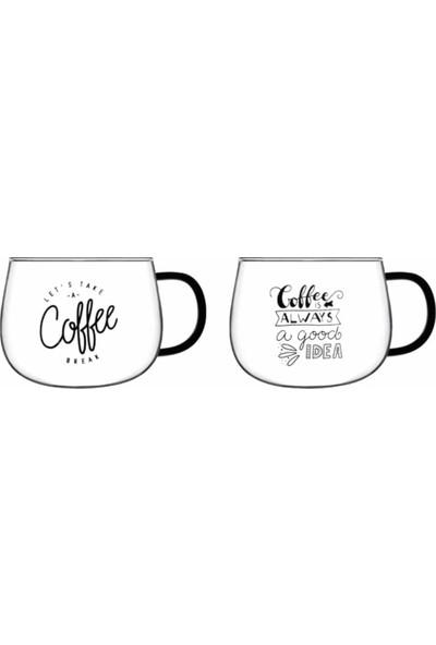 Perotti Costa Coffee 400 ml Cam Kupa