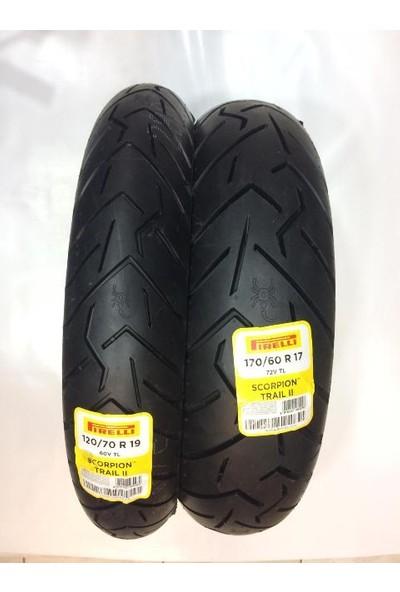 Pirelli Scorpion Trail 2 120/70-19 170/60-17 Lastik