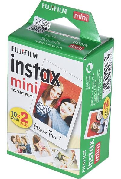 Fujifilm Instax Mini 20 Yaprak Beyaz Film Fotoğraf