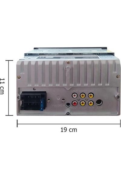 Max Level Universal Tip 7inç Profesyonel Double Teyp + Geri Görüş Kamerası