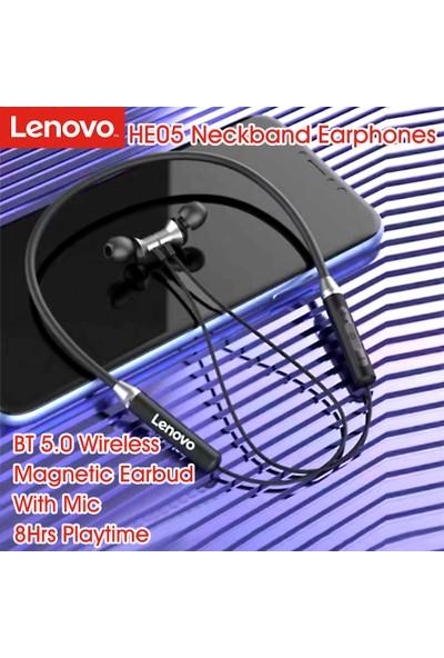 Lenovo HE05 Bt 5.0 Spor Kulaklık (Yurt Dışından)