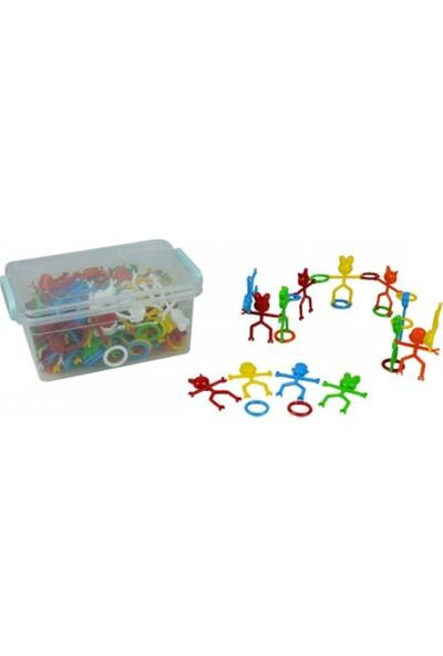 Efe Oyuncak Eğitici Öğretici Zeka Geliştirici Sevimli Çubuk Puzzle 530 Gr.