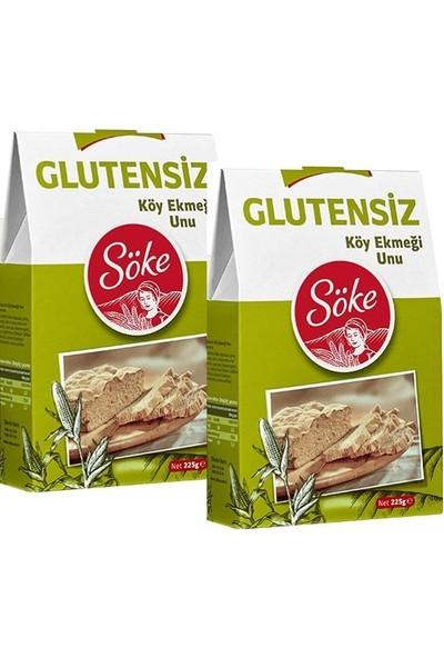 Söke Glutensiz Köy Ekmeği Unu 225 gr x 2