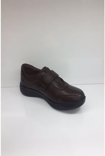 Forex 01023 Bayan Deri Günlük Comfort Ayakkabı
