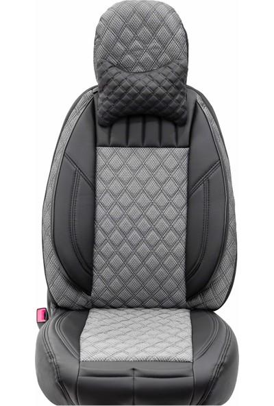 Stiloto Lux Araç Koltuk Kılıfı Füme Siyah