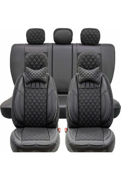 Stiloto Lux Araç Koltuk Kılıfı Siyah-Siyah