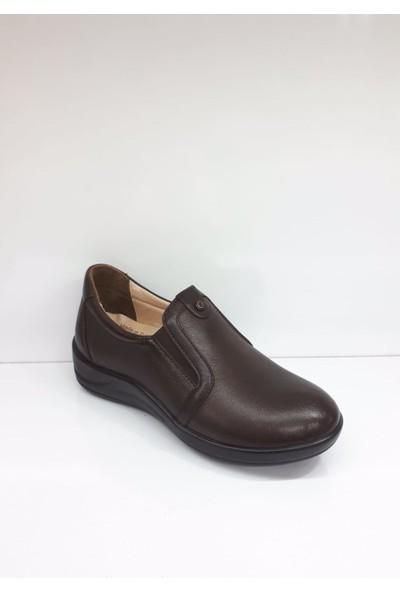 Forex 506-2 Bayan Deri Günlük Comfort Ayakkabı