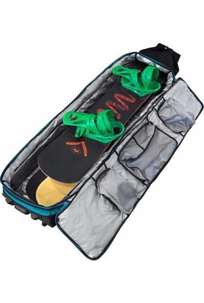 Winterial Tekerlekli Genişleyebilir Snowboard ve Aksesuar Çantası - 160/185 cm