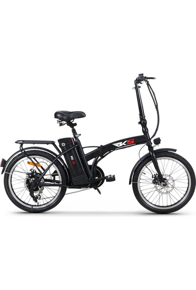 Rks Mx-25 Elektrikli Bisiklet (Siyah)