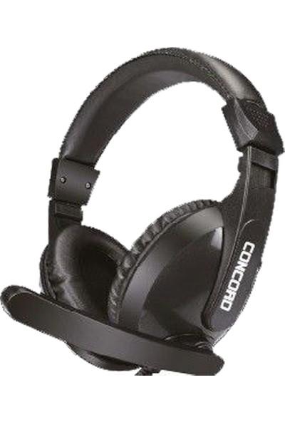 Concord C-943 Deri Mikrofonlu Pc Oyuncu Gaming Kulaklığı