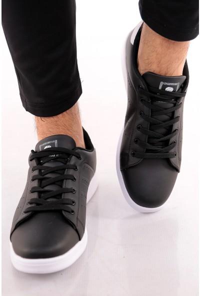 Jack Lions Agiscollection Erkek Bo Siyah Beyaz Ayakkabı