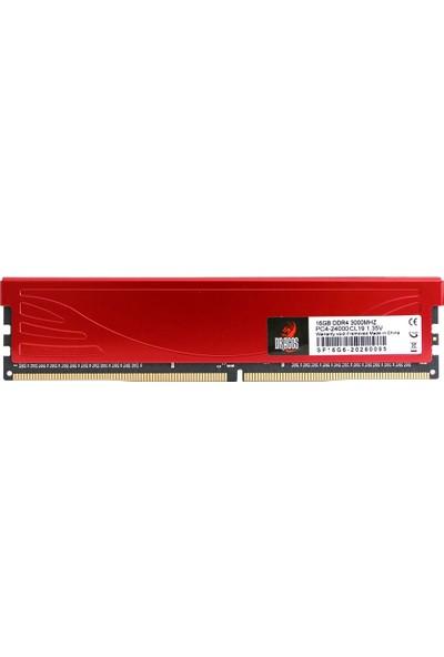 Dragos 16GB 3000 Mhz Ddr4 DRG-16G3000PC4 Soğutuculu Masaüstü Ram