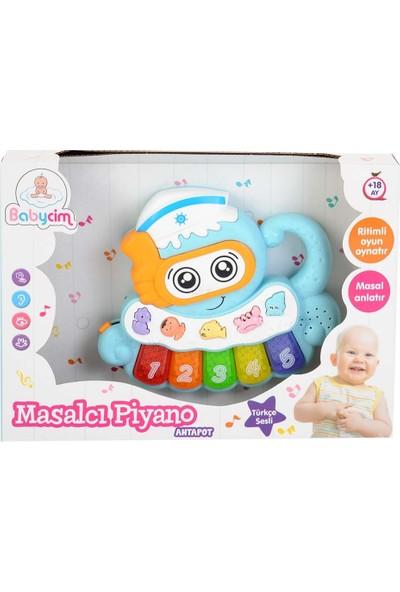 Babycim Masalcı Piyano Ahtapot