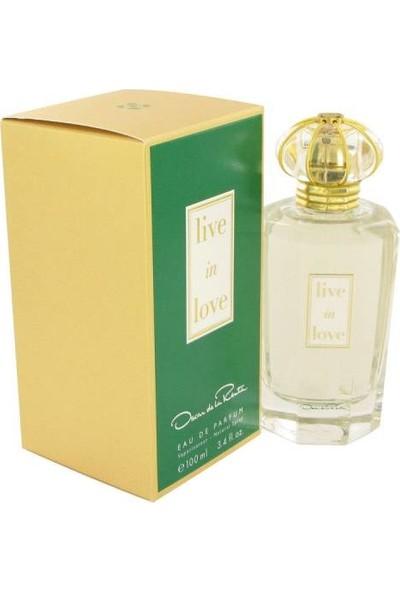 Oscar De La Renta Live In Love Edp 100 ml Kadın Parfüm