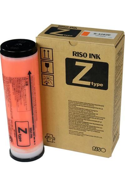 Riso S-4283 Turuncu Mürekkep (Adet Fiyatıdır)