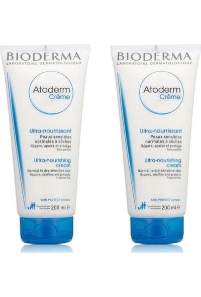 Bioderma Atoderm Cream 200 ml 2'li