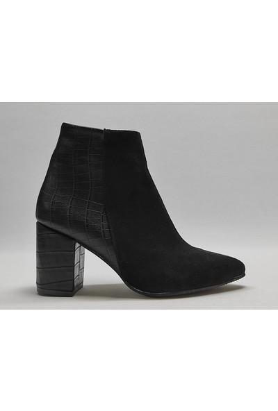 Uraz Moda Kadın Topuklu Bot