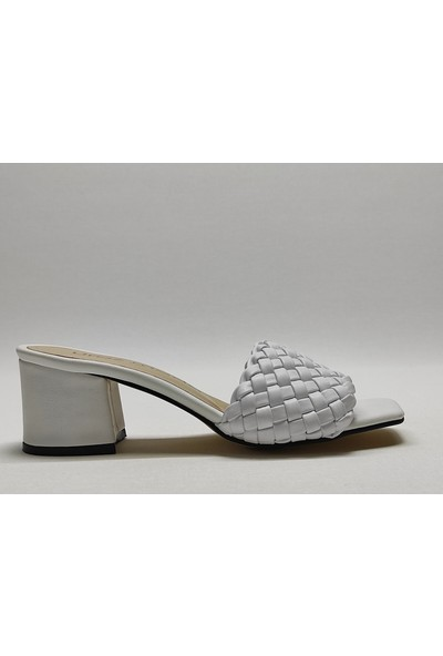 Uraz Moda Topuklu Terlik