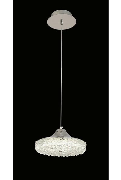 Luna Lighting Modern Luxury Sarkıt Tekli LED Avize
