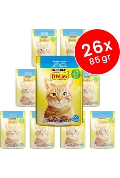 Friskies Somonlu Yetişkin Kedi Konservesi 26X85 gr