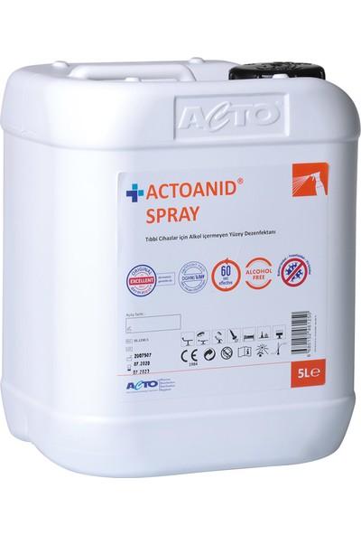Actoanıd® Spray 5 lt Yer ve Yüzey Dezenfektanı
