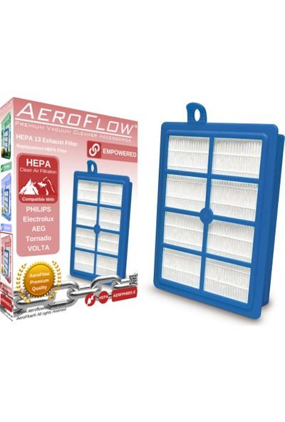 AeroFlow Philips Fc 9062 Jewel Elektrikli Süpürge Uyumlu Güçlendirilmiş Hepa 13 Filtre