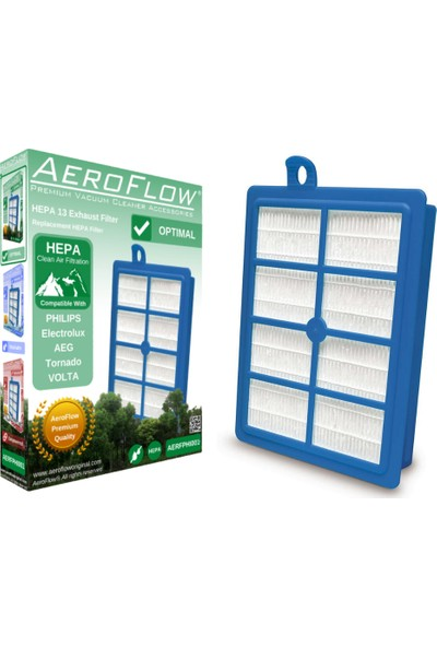 AeroFlow Philips Fc 9160 Performer Elektrikli Süpürge Uyumlu Hepa 13 Filtre