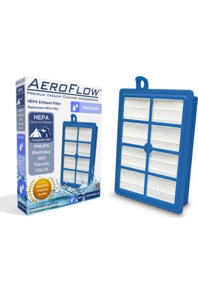 AeroFlow Philips Fc 9205 Marathon Süpürge Uyumlu Yıkanabilir Hepa 13 Filtre