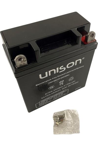 Unison Micron 12V 5 Ah Unıson 12N5-BS Motorsiklet Aküsü