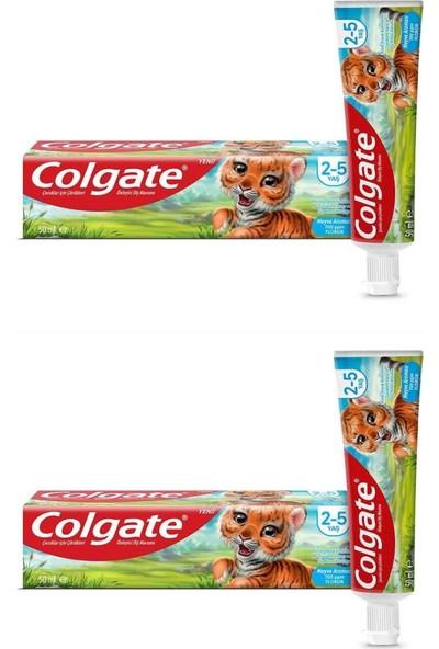 Colgate Çocuk Diş Macunu 2-5 Yaş 50 ml (2 Adet)