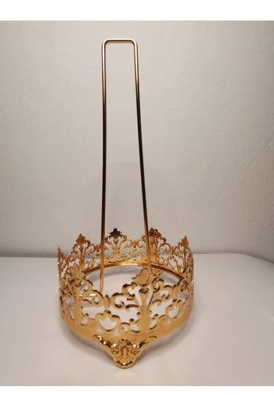 2M1B Altın Rengi Çelik Havlu Peçetelik