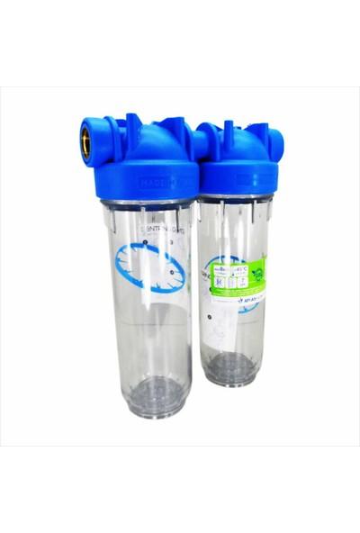 "Water Fresh Waterfresh 10"" Tesisat Su Giriş Filtresi 2 Li"