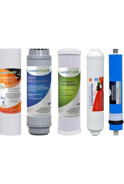 Water Fresh Waterfresh Tüm Cihazlara Uyumlu Açık Kasa 5 Li Filtre Seti