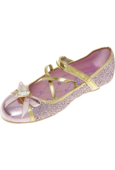 A028 - Disney Prenses Rapunzel Kostüm Ayakkabısı - Lisanslı Disney Ürünü